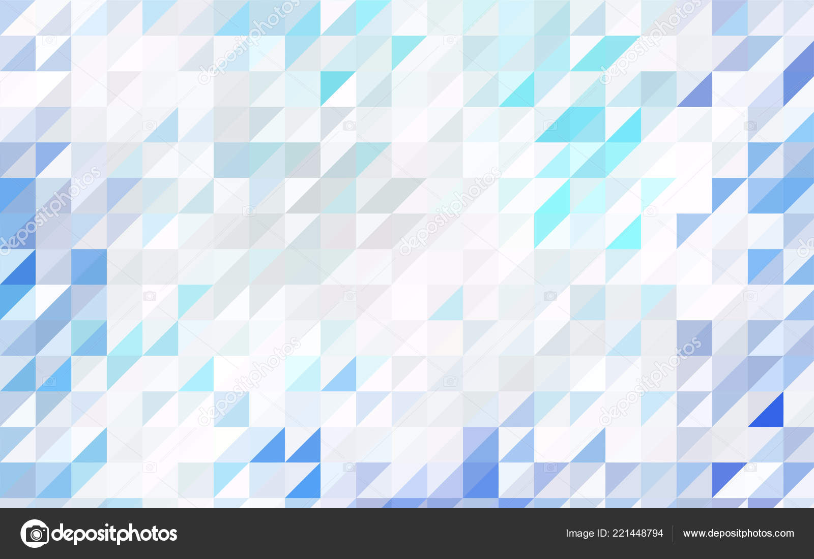 Dark Blue Red Vector Small Triangles White Background