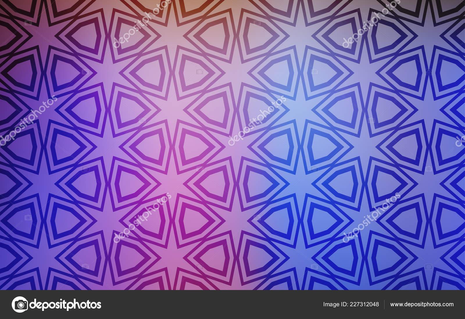Cubierta Luz Multicolor Vector Con Estrellas Pequeñas Grandes Dibujo