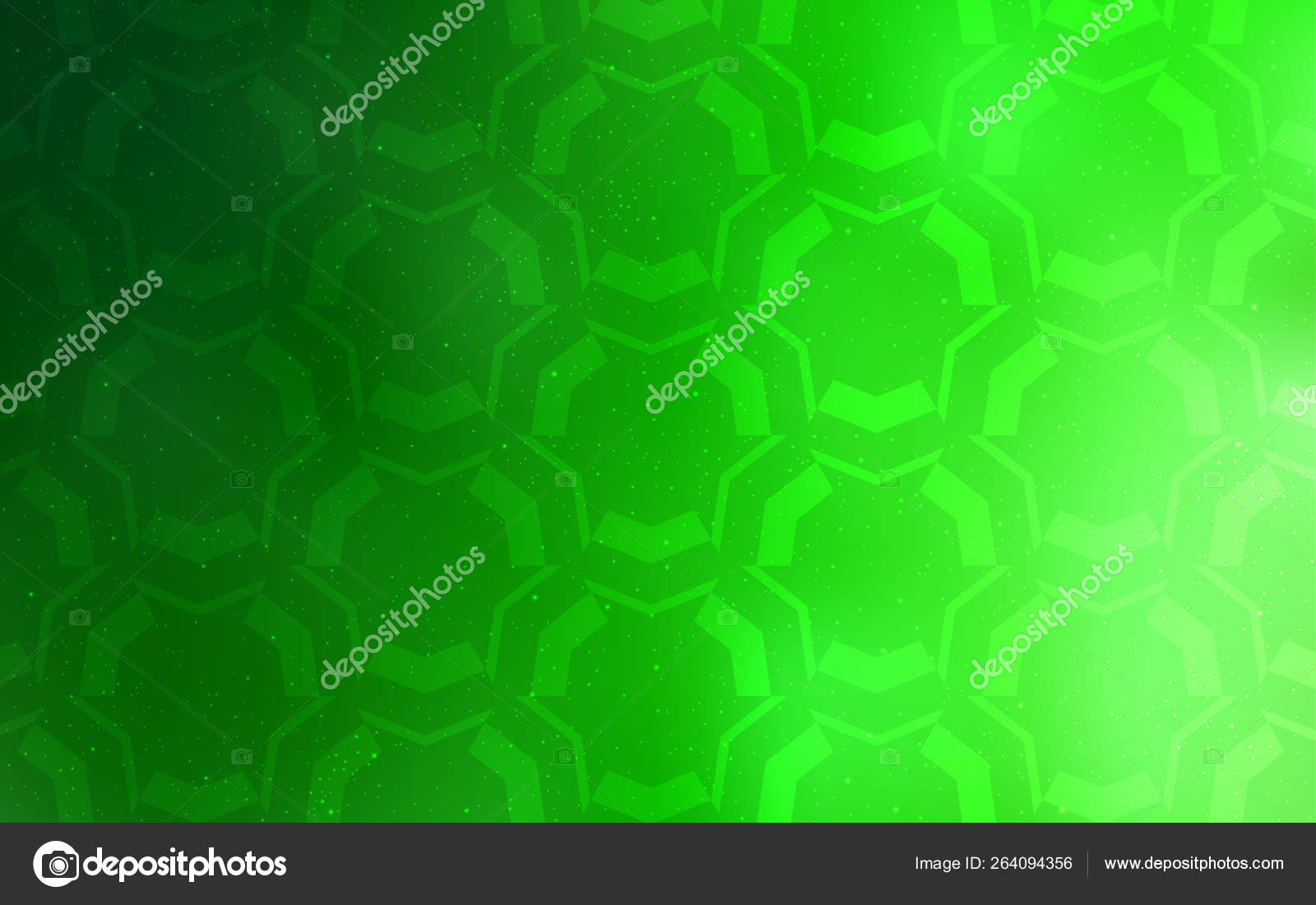 Light Green Vector Background Bent Lines Circumflex Abstract