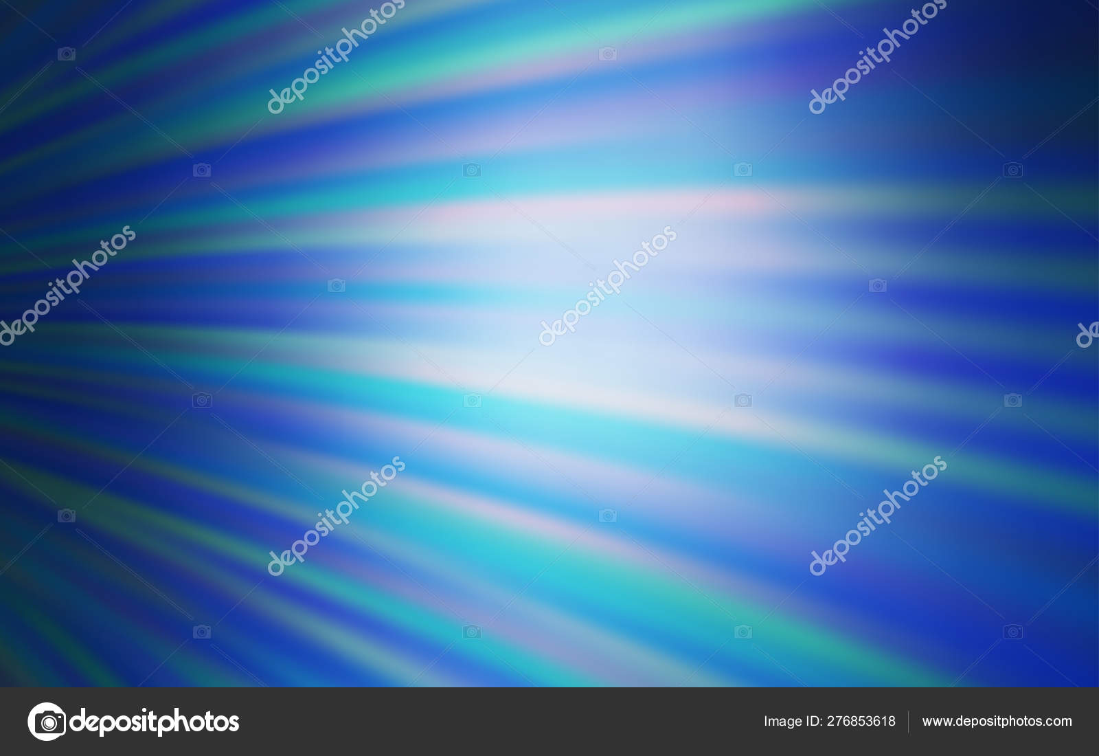 Colorati D Azzurro Chiaro texture vettoriale blu chiaro con linee curve. — vettoriali