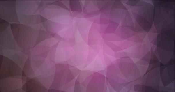 4K smyčka tmavě růžové video vzorek se zakřivenými liniemi.