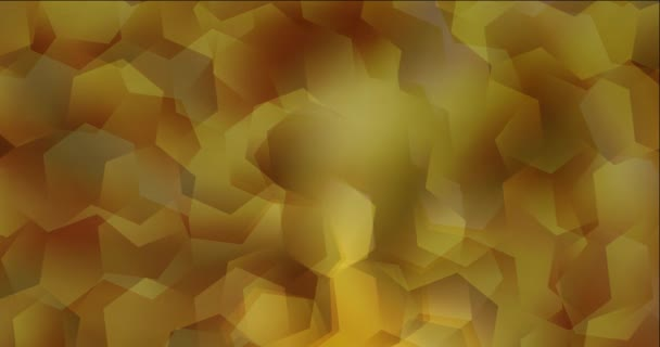 4K looping video with hexagonal shapes. Abstract animation with hexagons in polygonal style. Movie for a cell phone. 4096 x 2160, 30 fps.