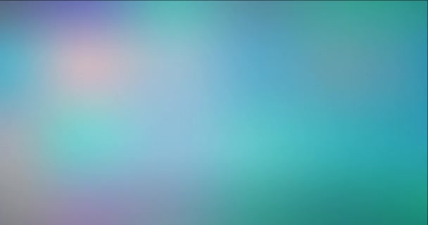 4K looping light green blur abstract animation.