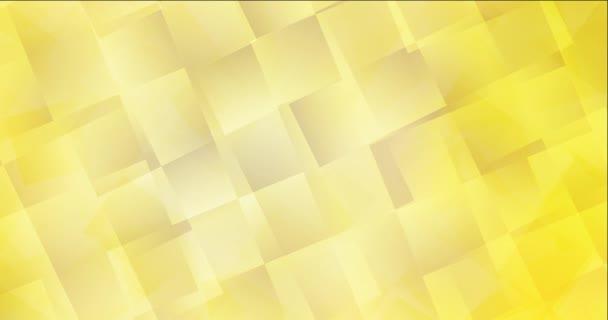 4K hurok világossárga áramló videó téglalapokkal.