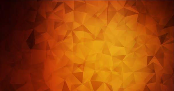 4K smyčka tmavě červené video s polygonálními materiály.