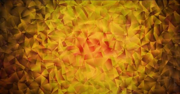 4K smyčka tmavě červená, žlutý abstraktní video vzorek.