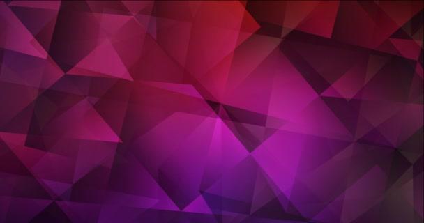 4K smyčka tmavě růžové, žluté animované pohyblivé slideshow.