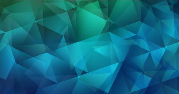 4K looping light blue, green abstract video sample.