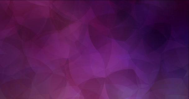 4K hurkolás sötét lila, rózsaszín áramló videó hajlított vonalak.