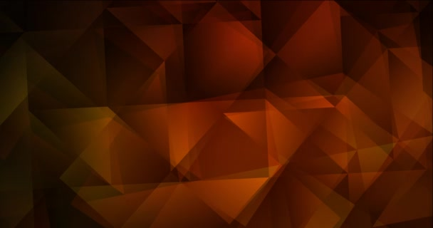 4K smyčka tmavě červená polygonální tekoucí video.