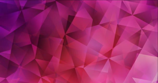 4K smyčka světle růžová, červená animovaná pohyblivá slideshow.