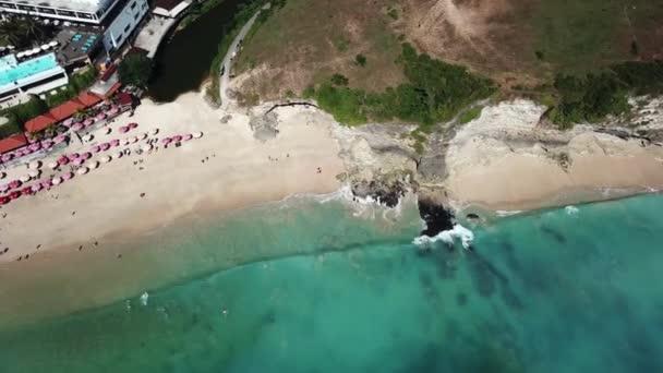 Dreamland beach on Bali island