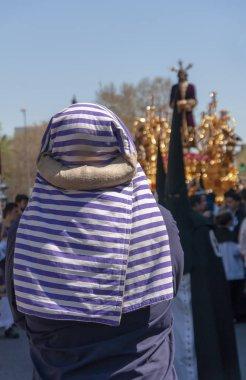 Kutsal hafta Seville, costalero