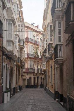 City Center Street of Cadiz, Andalusia