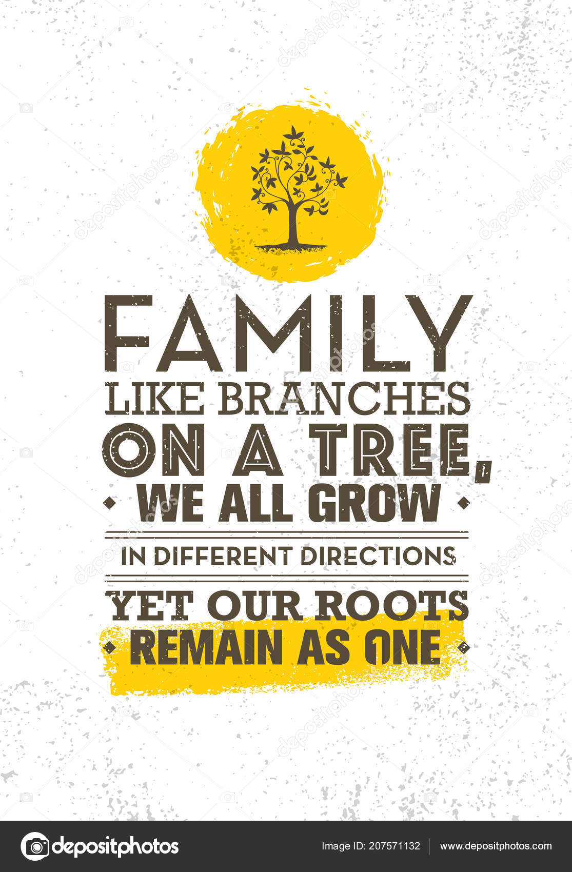 Background: family like branches on a tree quote | Poster ...