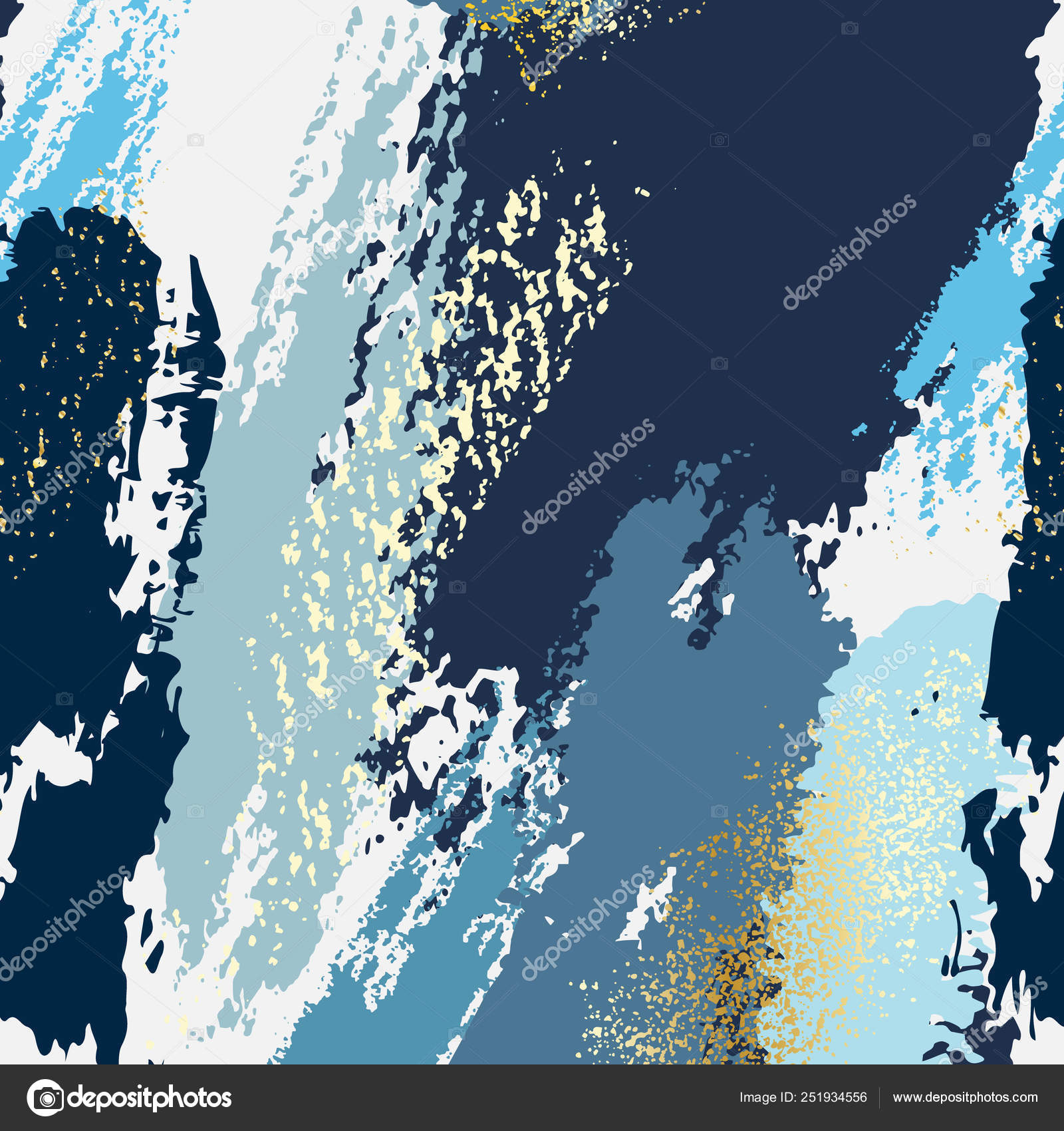 Abstract Navy Blue Texutre Pattern Girty Grunge Paint
