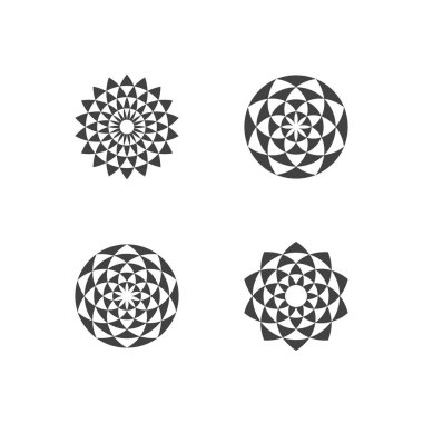 Circular Fractal Design Elements