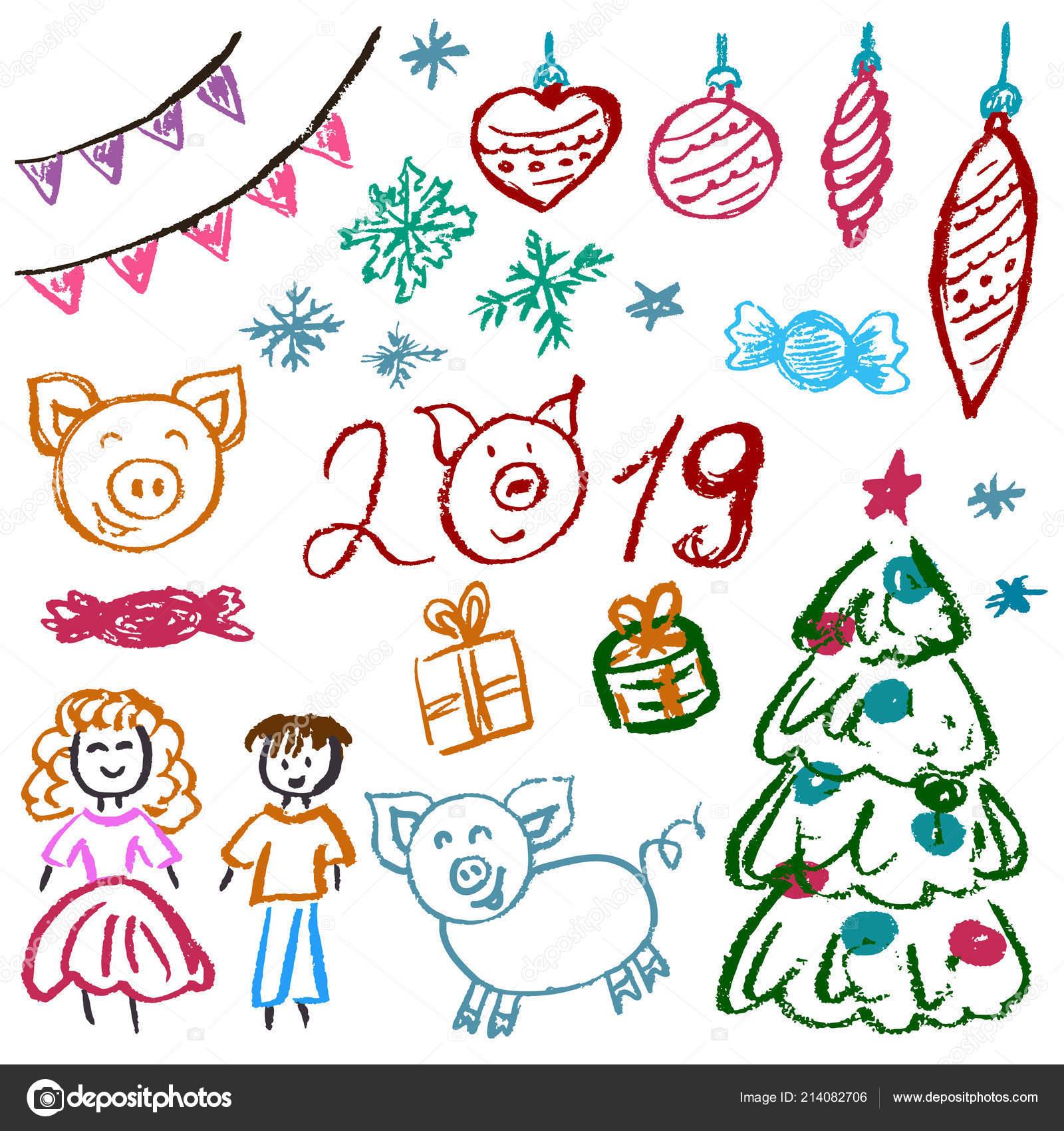 Картинки по запросу малюнок новий рік 2019