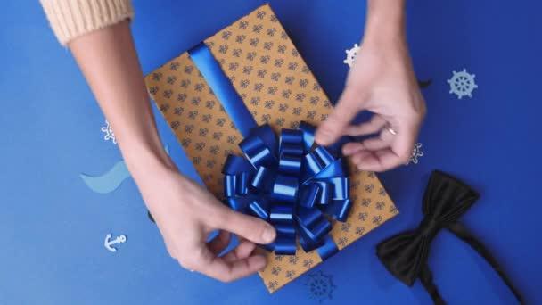 Lepení na přídi krabičce pro muže, obtékání současnosti, pozemek dekorace, krabice s dárky, 4k Uhd