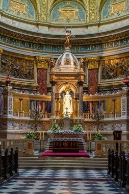 St. Stephen's Basilica church in Budapest, Hungary