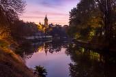 Fotografie View of Timisoara city in Romania