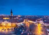 Sibiu wonderful city in Transilvania, Romania