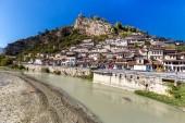 Berat , old small city in Albania