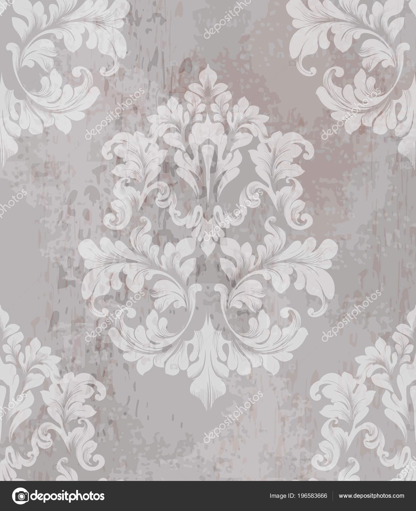 Vintage Alte Papierstruktur Vektor. Luxus Barock Muster Tapete Ornament  Dekor. Textilien, Stoff, Fliesen. Nude Farbe U2014 Vektor Von Inagraur.ymail.com