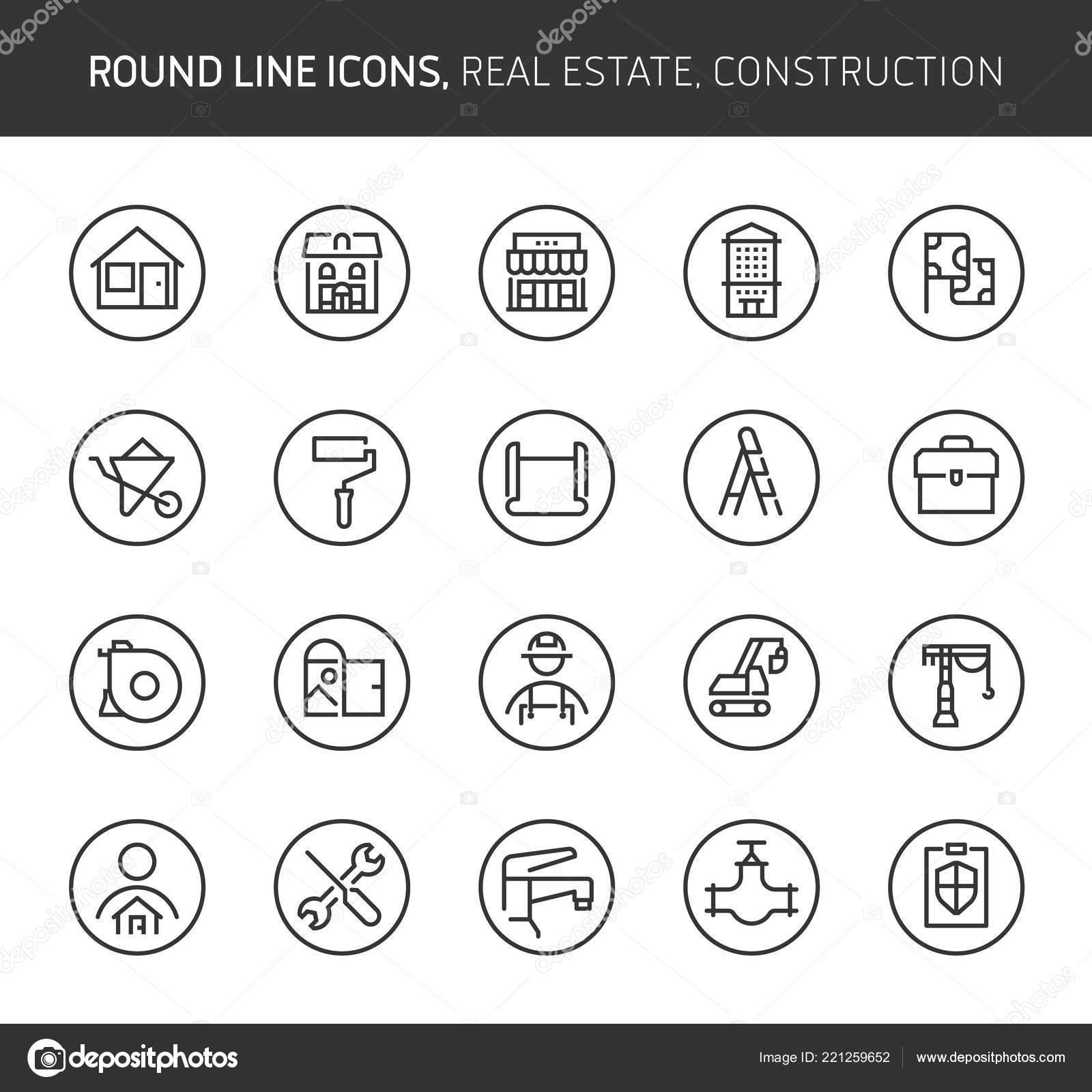 Energy Theme Line Icons Illustrations Vector Editable Stroke 64X64