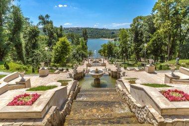 An amazing open air park in Chisinau in Moldavia in Europe