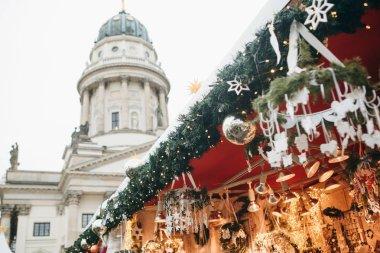 Christmas market in Berlin.