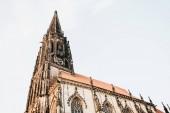 Fotografie Blick auf die Lambertikirche in Münster in Deutschland