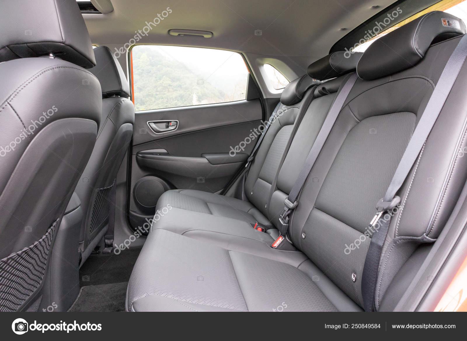 Hyundai Kona Ev 2019 Interior Stock Editorial Photo Teddyleung