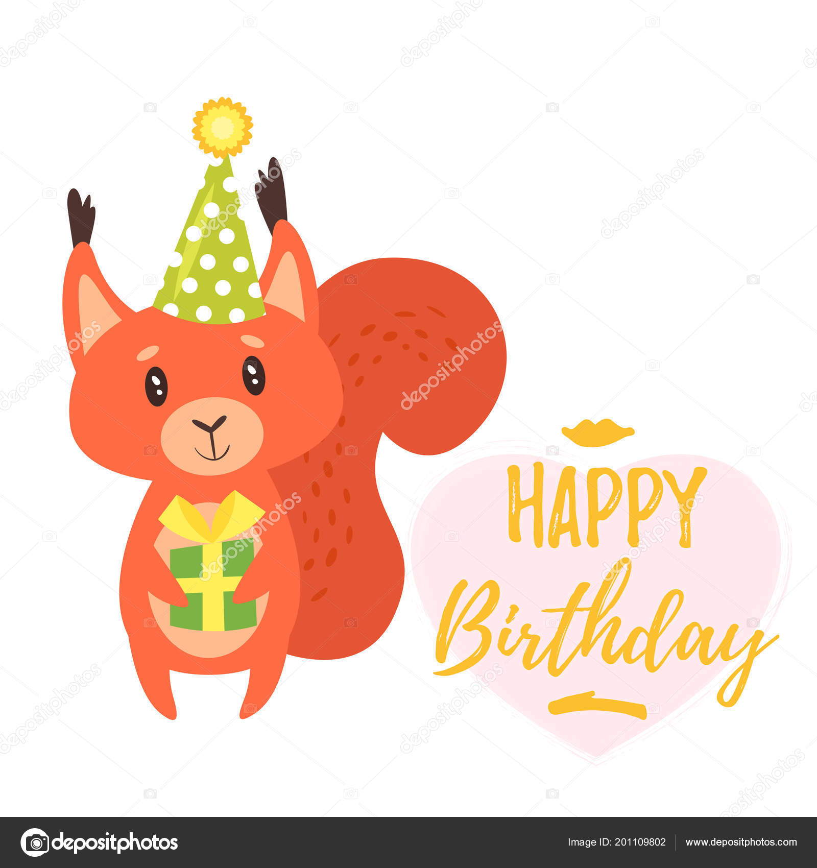 Happy Birthday Greeting Card Template Stock Vector Tkronalter9