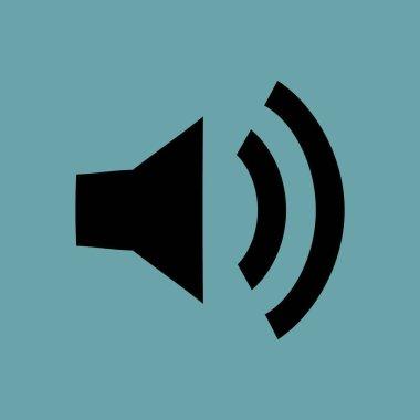 Speaker vector icon simple illustration