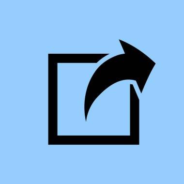 share icon  simple illustration