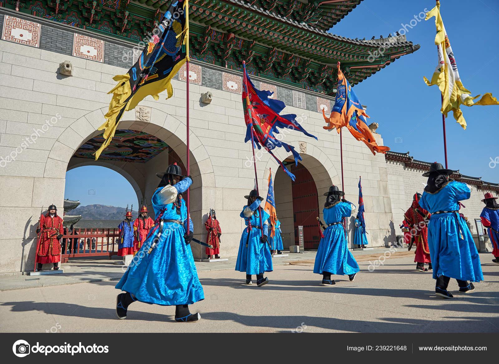 Seoul South Korea January 2019 January 2019 Dressed