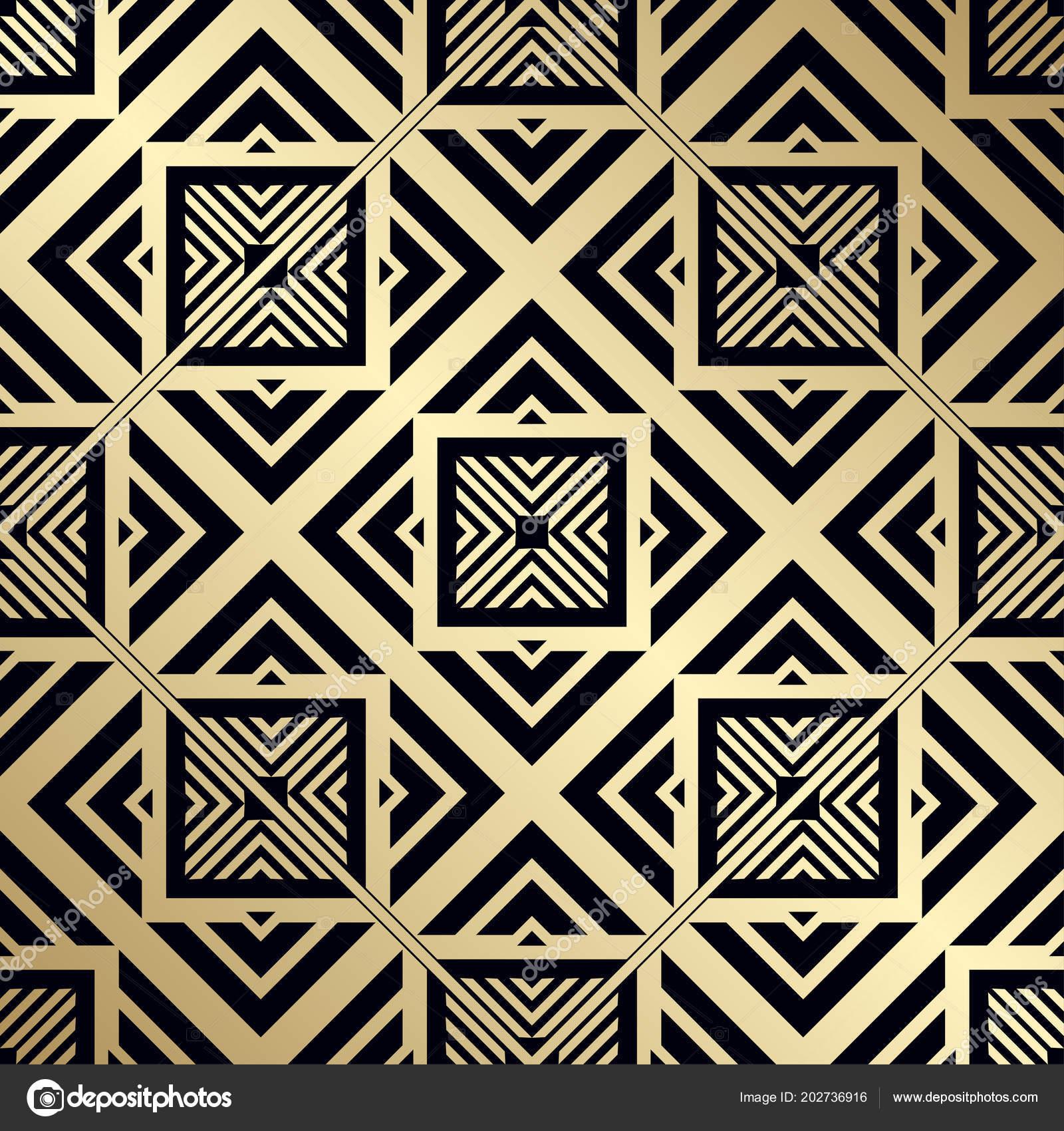 Strange Art Deco Design Motifs Art Deco Pattern Seamless Golden Download Free Architecture Designs Grimeyleaguecom