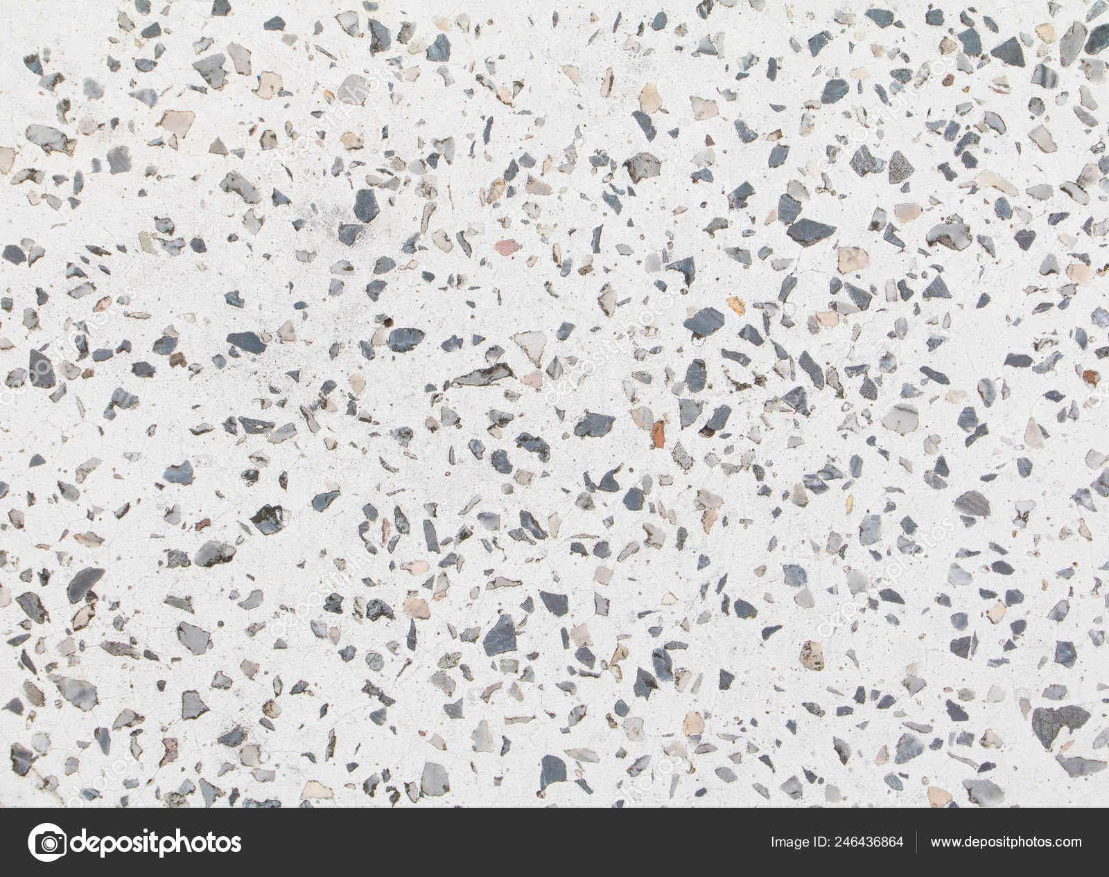 Terrazzo Flooring Old Texture Polished Stone Background Copy