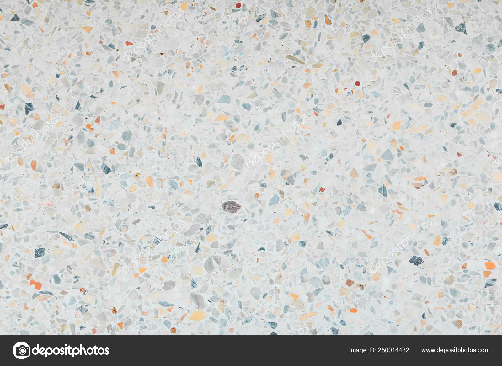 Terrazzo Floor Texture Old Polished Stone Pattern Wall
