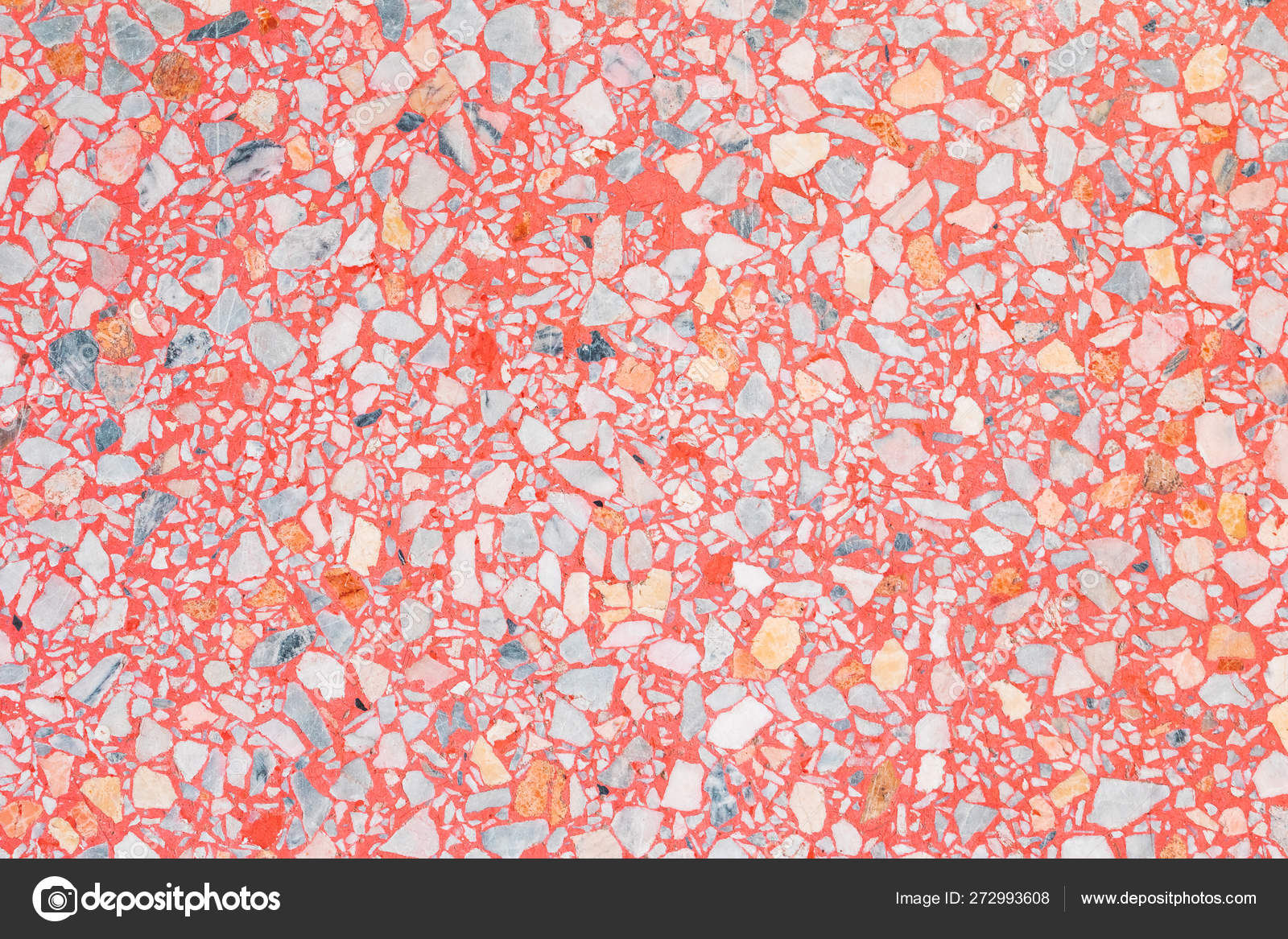 Terrazzo Flooring Texture Polished Color Small Stone Pattern