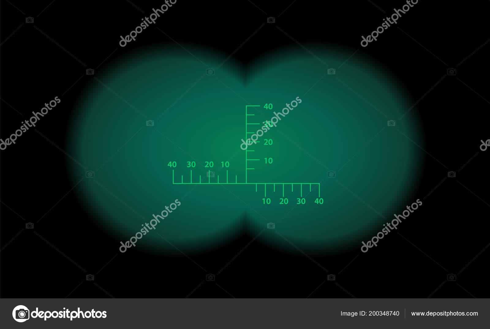 Binokulare ansichtsmaßstab optischen anblick night vision stil der