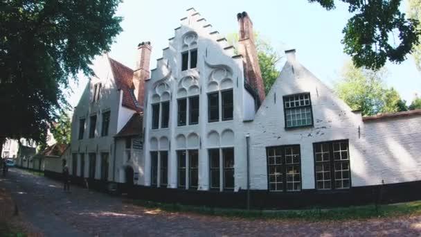 Historický dům v brugge, Belgie