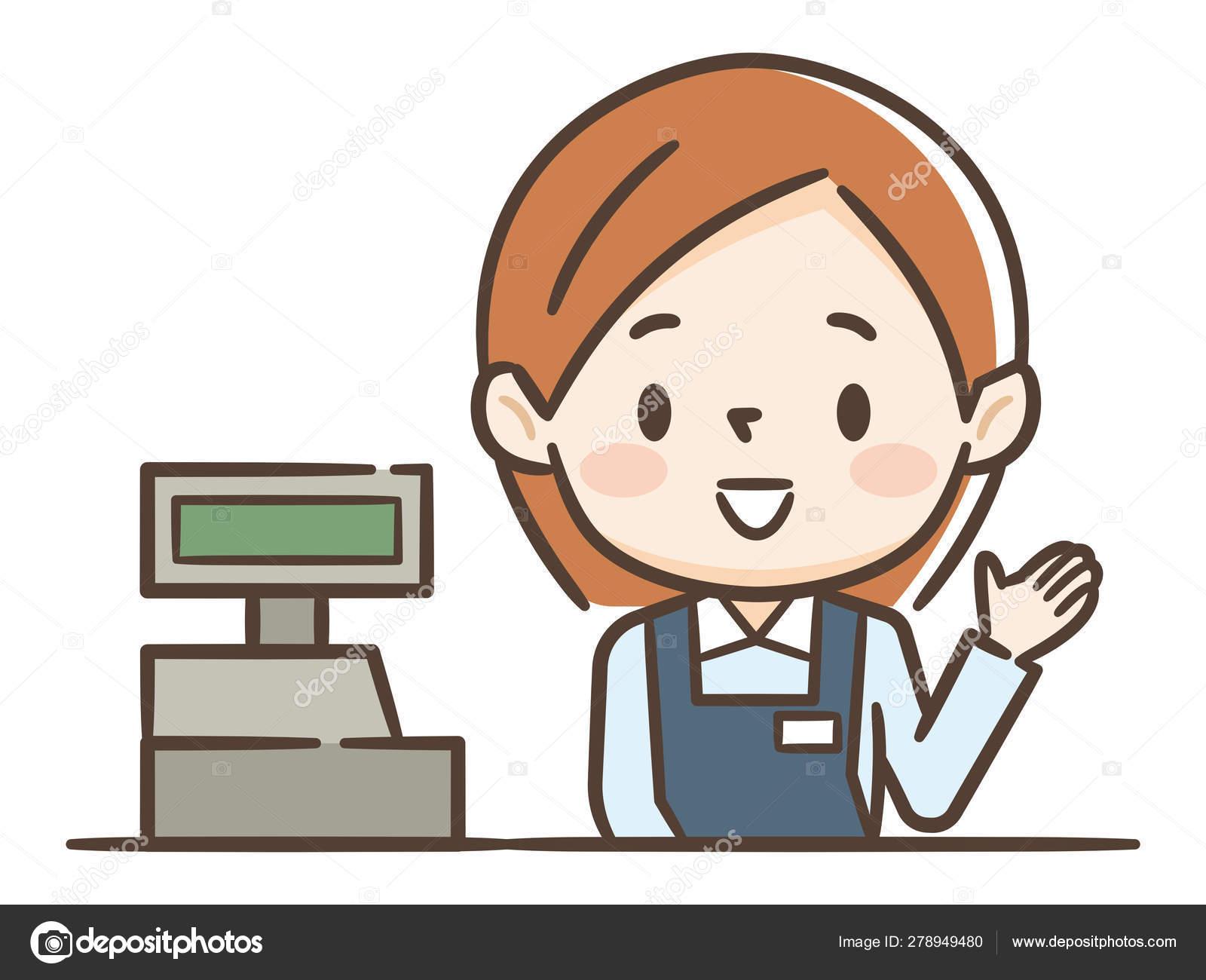 Cartoon Cashier Stock Illustrations – 2,737 Cartoon Cashier Stock  Illustrations, Vectors & Clipart - Dreamstime