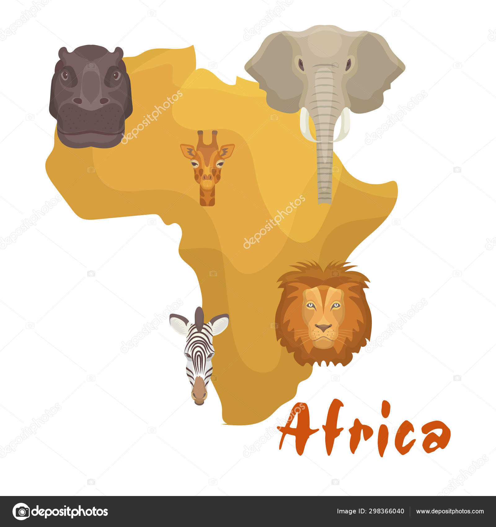 Africa animals map or continent vector illustration. Lion ... on savanna africa weather, savanna east africa, savanna people, savanna climate, savanna africa brochure, the african savanna map, savanna in africa, savanna giraffe, african savanna location map, savanna south africa, south african savanna map, savanna food chain, savanna biome, savanna name, east african savanna map, savanna animals, savanna vegetation, savanna fire, kalahari desert map, african savanna on a map,