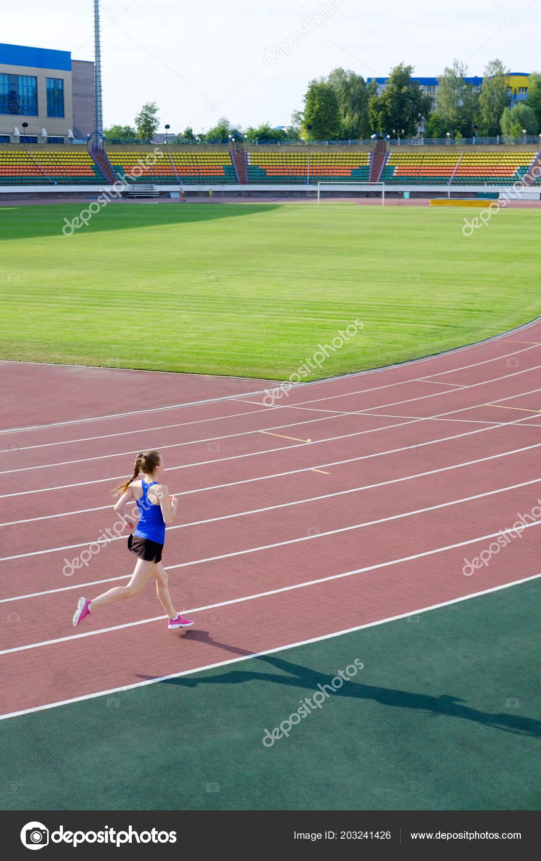 Joven Atlética Rosa Atletismo Deporte Pista Color Correr Zapatillas 34L5AjR
