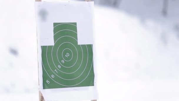 Fegyvert lő lövés célt fogalma