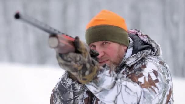A vadász puska. A vadász egy puska célokat álcázás
