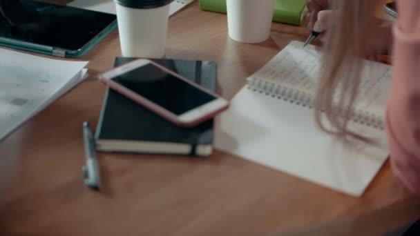 Modern Office Desk Business Team Meeting And Brainstorming Discuss Mobile Application Development