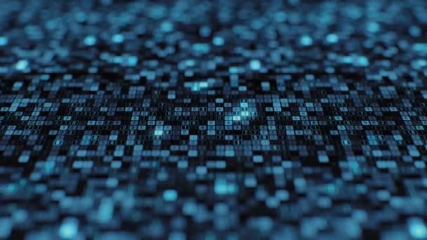 Information technology visualization hacker attack on big data cloud storage application